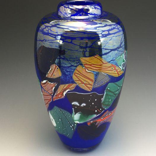 20210921-MAG-FFAST Lapis Shard Vase by Alex Kalish