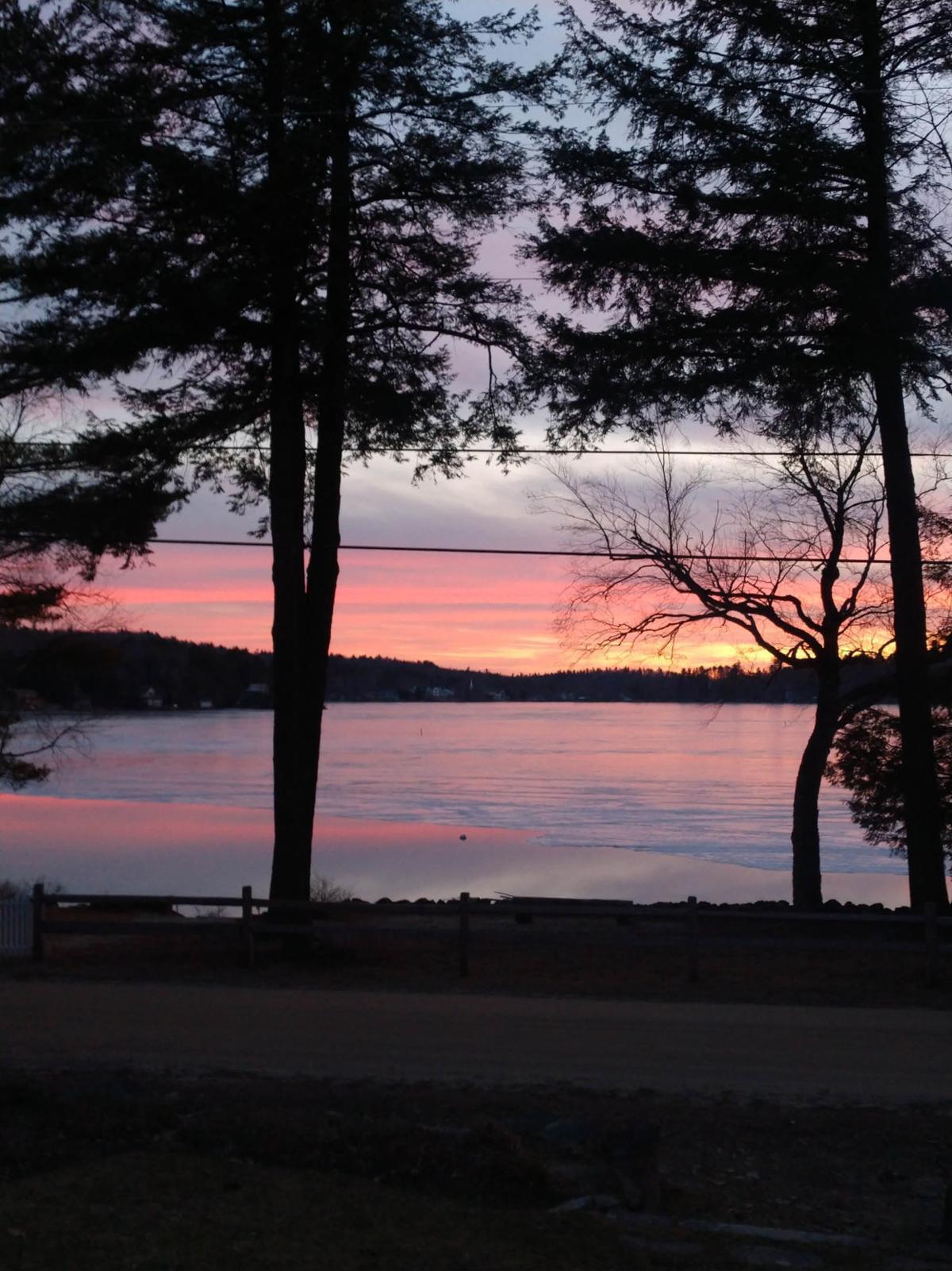 Stoddard sunset