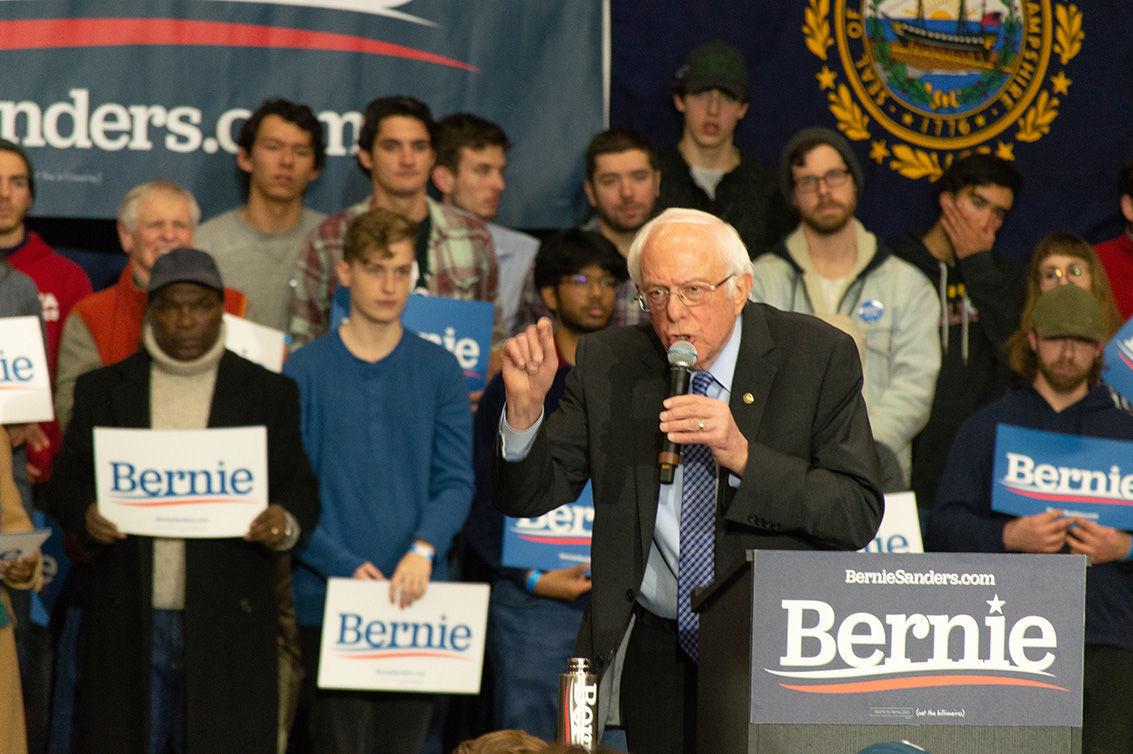 Sanders rally at Keene State