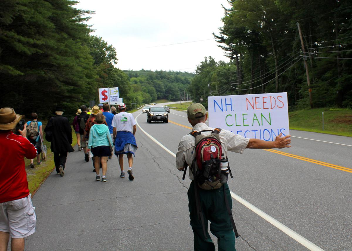 Spirit of Granny D lives on as activists march for campaign finance reform