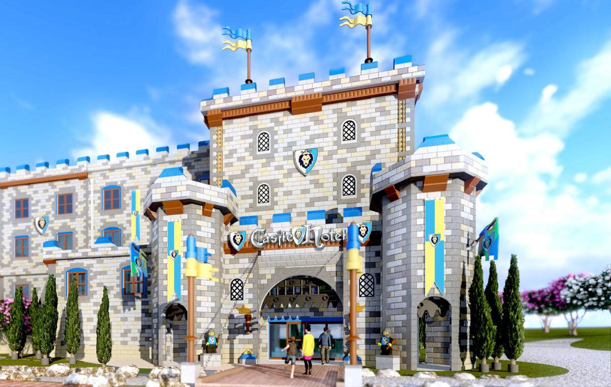 Legoland to open second hotel in April — a castle ...