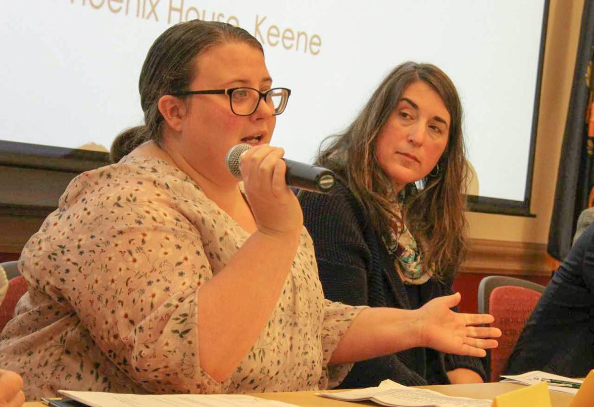 At Keene event, opioid crisis viewed through two lenses
