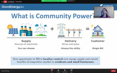 What is community power?