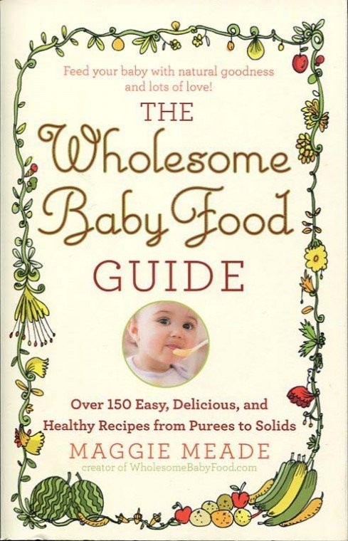 Book review the wholesome baby food guide by maggie meade the wholesome baby food guide by maggie meade forumfinder Gallery