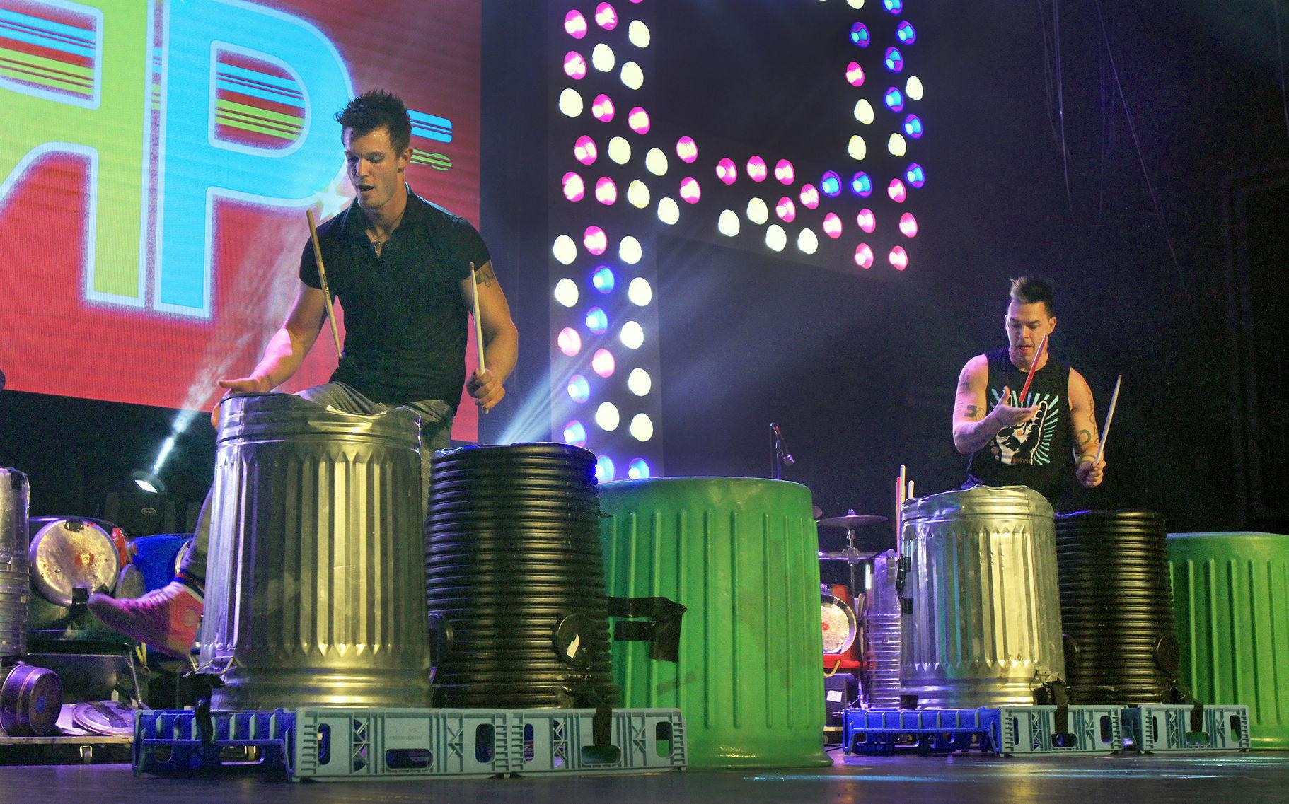 Recycled Percussion to play during Drive-In Live in ...
