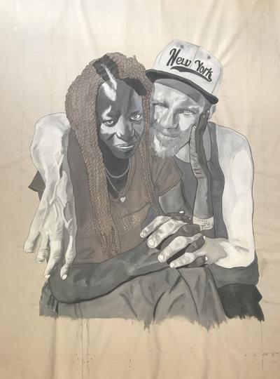 Homelessness exhibit