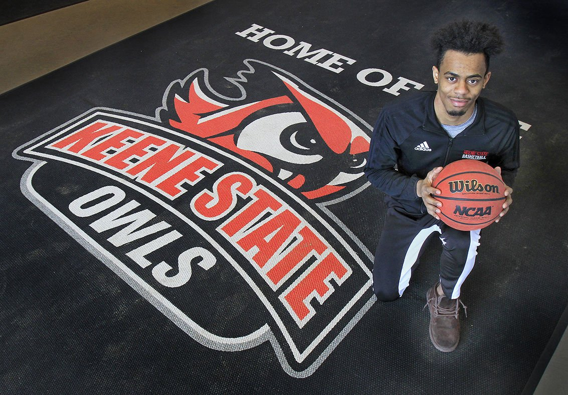 Keene State's leading scorer learns how to be a leader, by Steve Gilbert