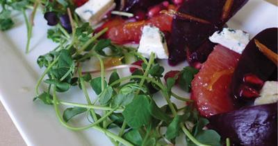 Cal's Beet and Grapefruit Salad