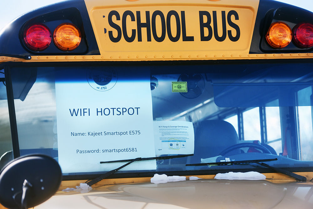 Bus hotspot