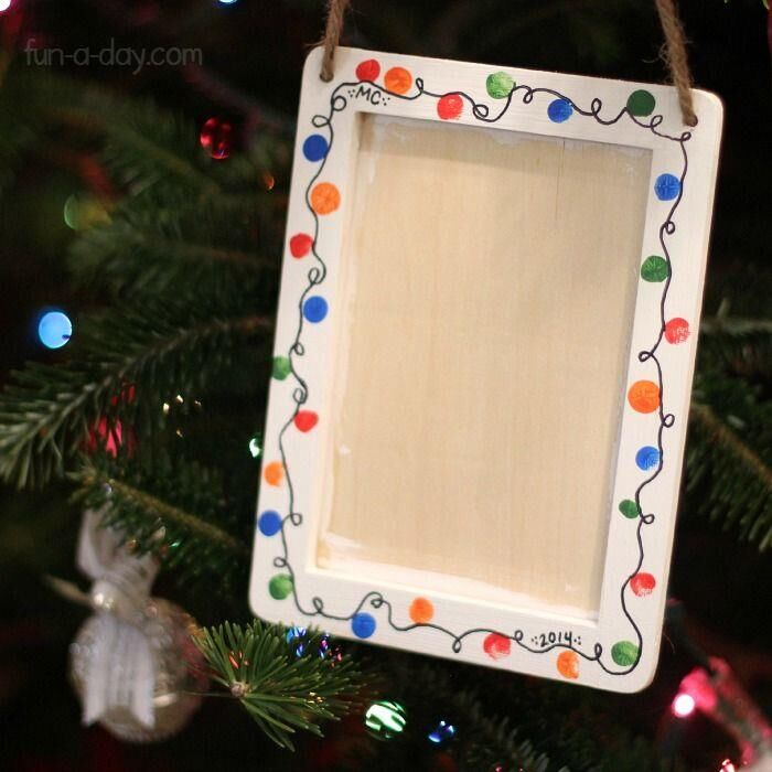 Holiday Crafts: Holiday Frame