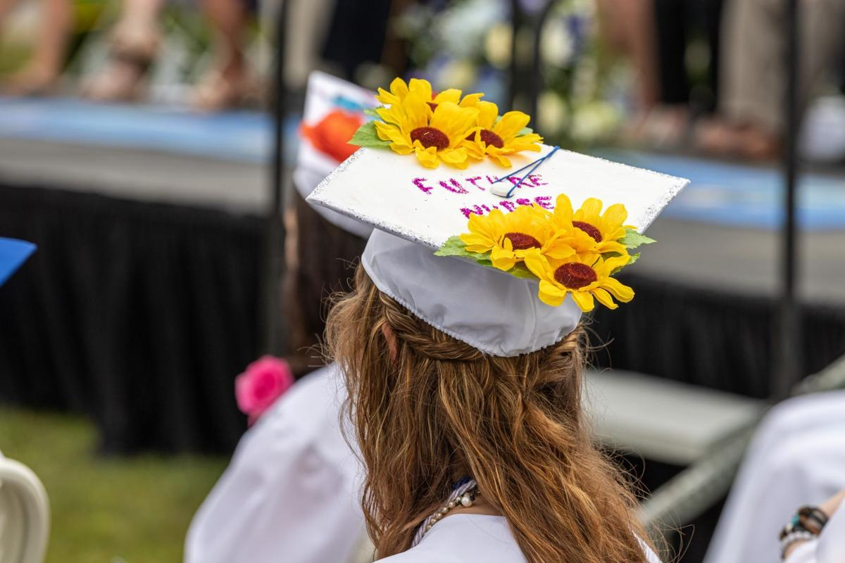 Photos from Hinsdale High's graduation