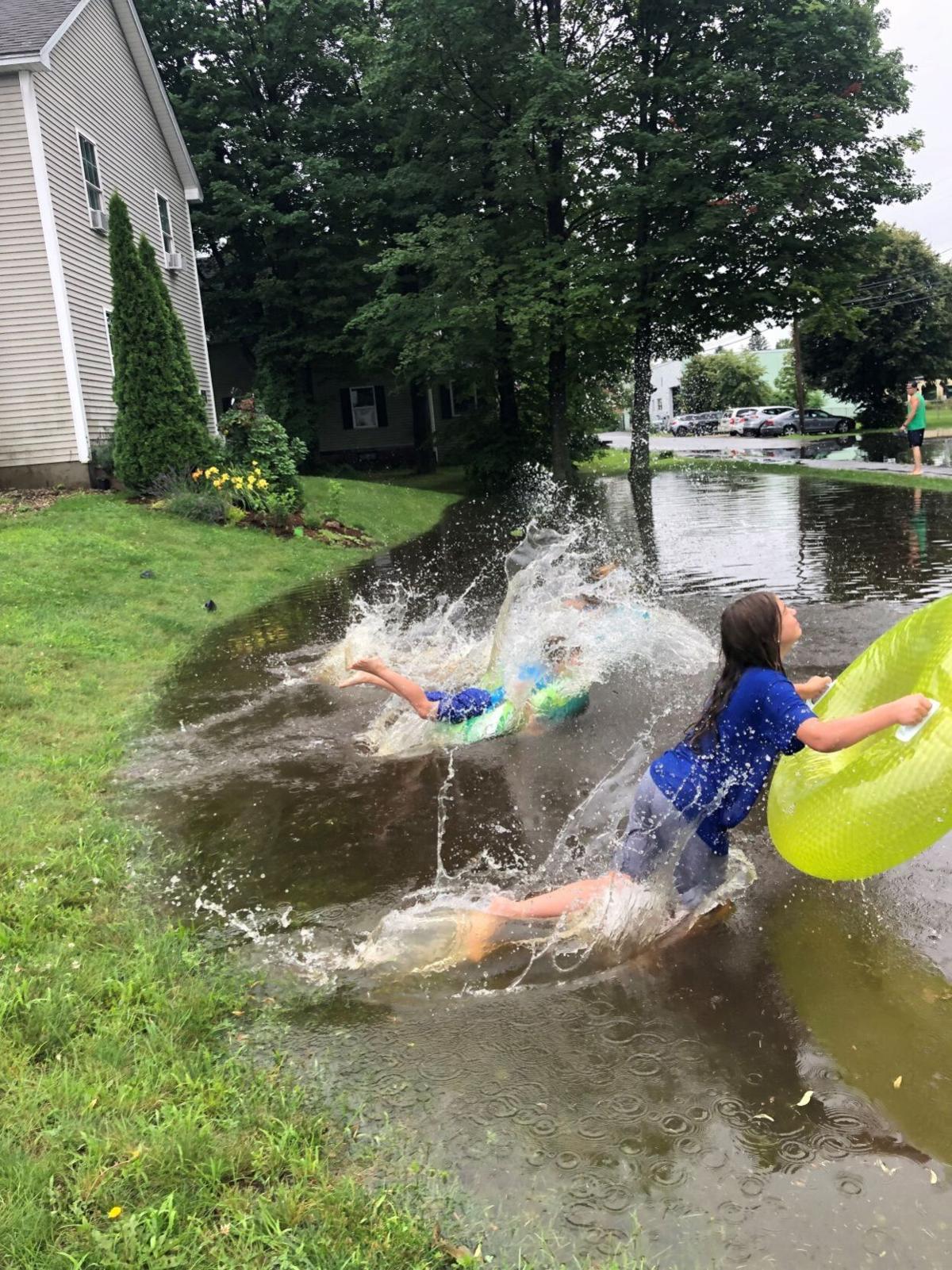 Flooding fun
