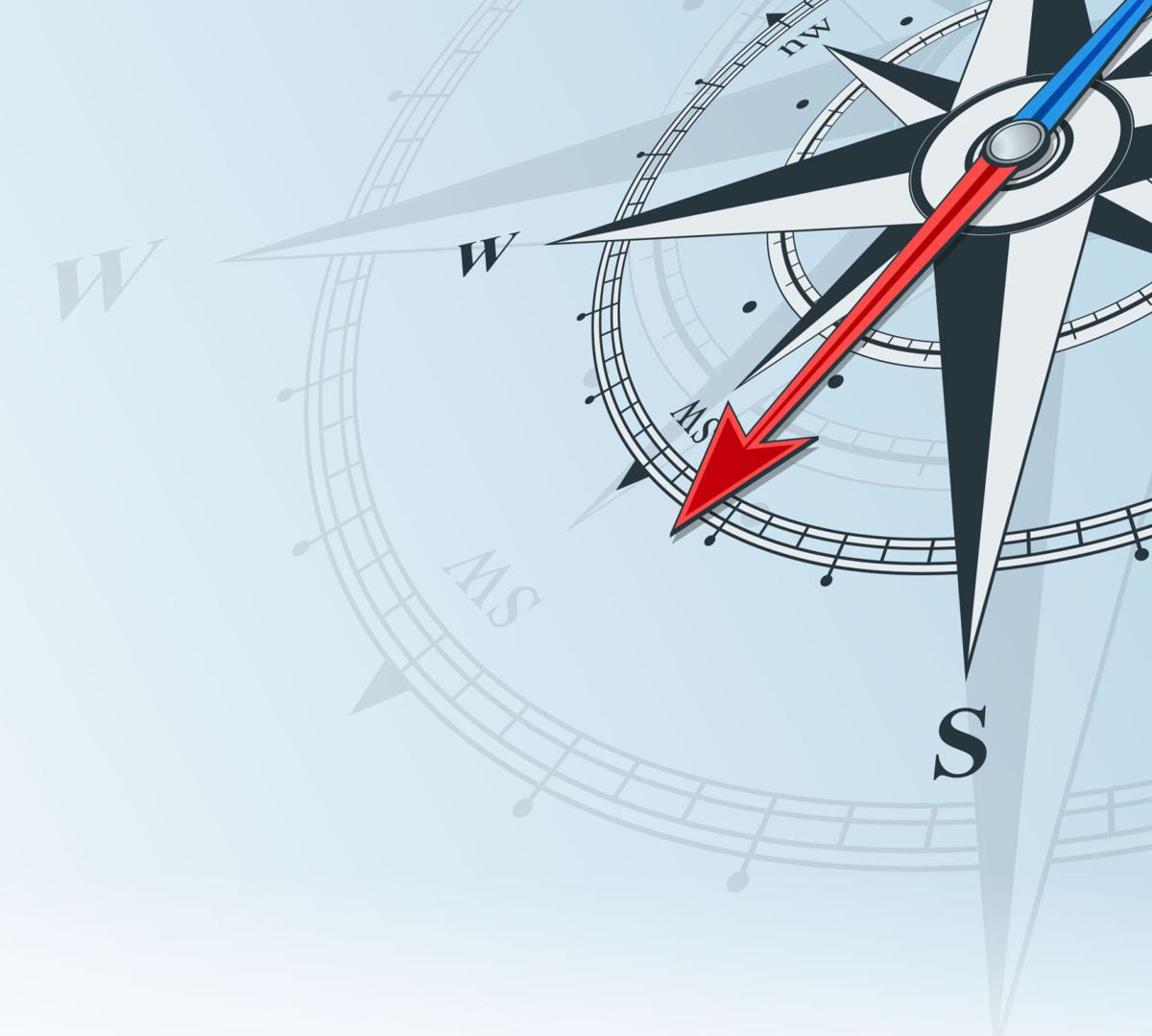 Finding Science And The Way To Canada Big Kids Teens 360 Degree Compass Diagram