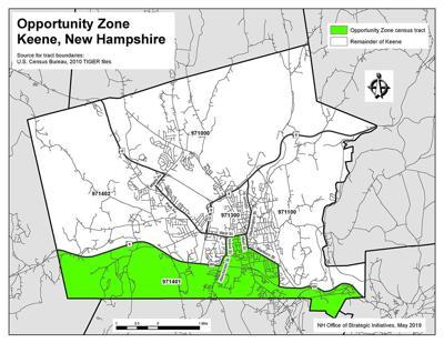 Keene Opportunity Zone
