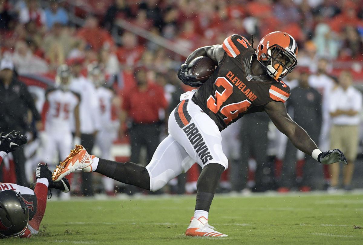the latest 53896 062dd Payday: Browns' Crowell wants ball more, contract extension ...