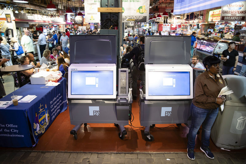 Philadelphia voting machines challenged in federal court