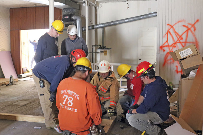 Firefighters shore up gaps in training
