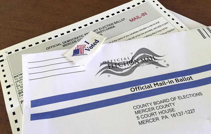 Lawmakers working on voting reforms mail-in ballot