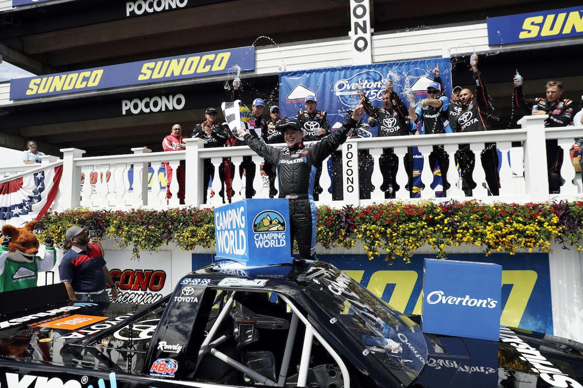 Bell wins Truck race at Pocono; Kyle Busch wrecks | Sports ...