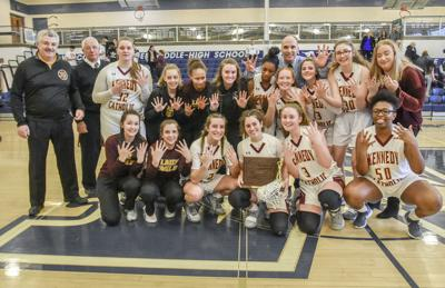 Kennedy girls 1A champs