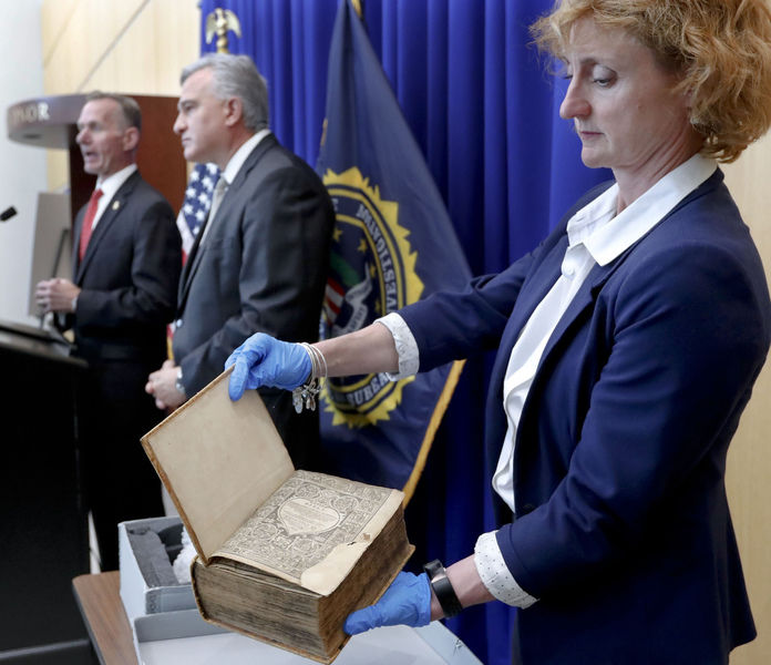 Rare, ancient Bible is part of nation's religious heritage