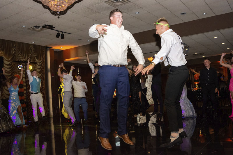Dancin' away the night - and worries - at Sharon prom