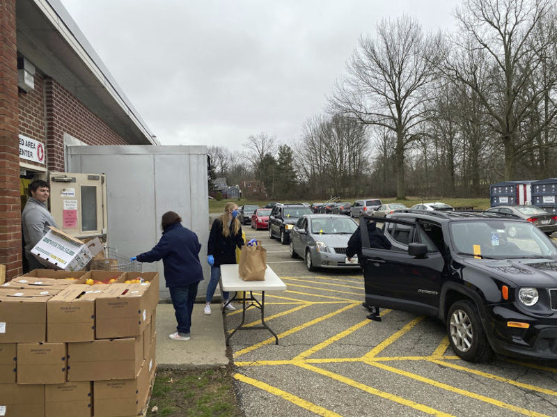Salvation Army steps up with emergency food distribution