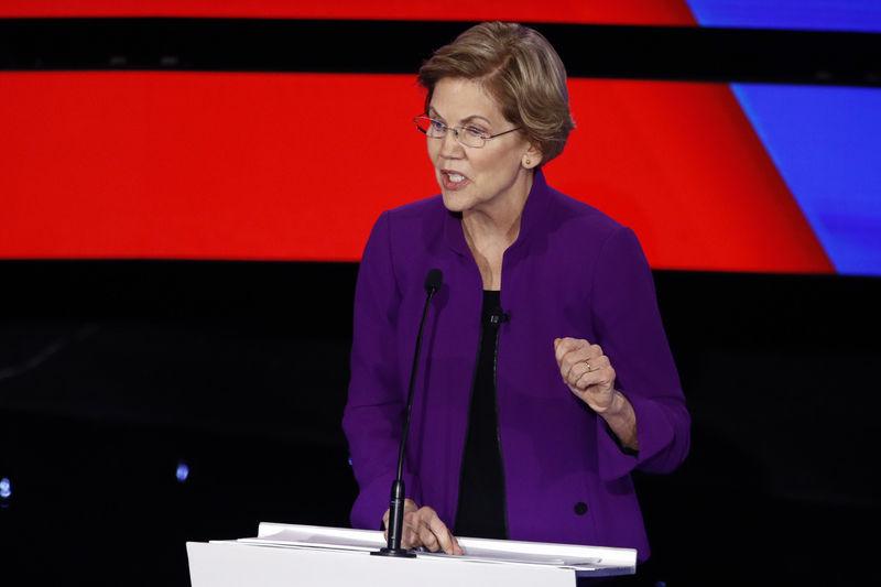 Warren, Sanders spar over her claim he said woman can't win