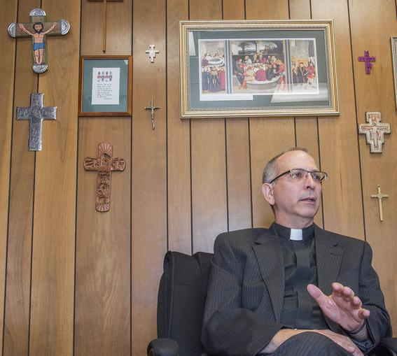 A higher authority: Sharon pastor elected Lutheran church bishop