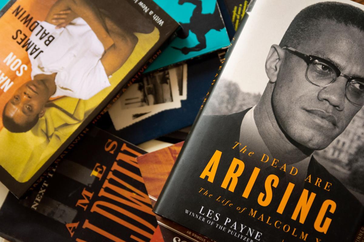 Black literature collage