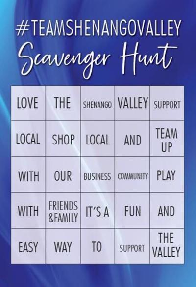 Scavenger hunt aims for fun while supporting community