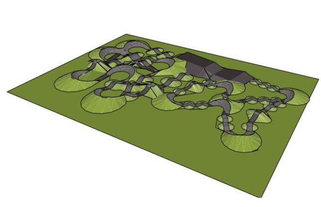 Pump track coming later this summer in Buhl Park   Local