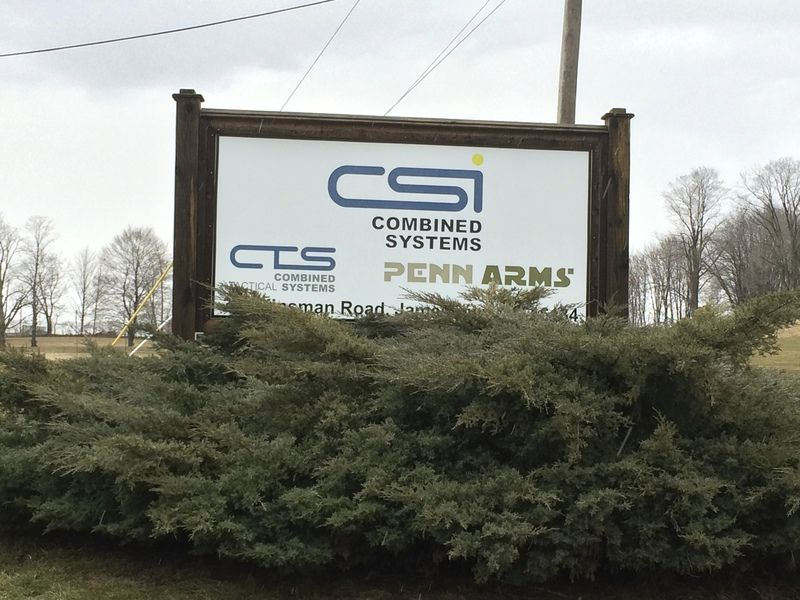 Worker injured in accident at Combined Systems