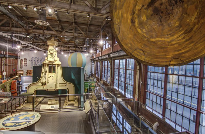 Industrial museum opens in old Pa. steel plant