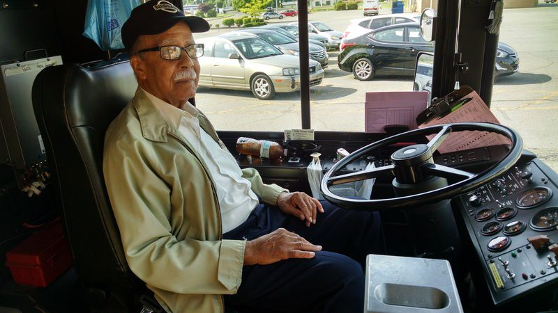 Video shows 85-year-old man firing multiple shots at driver in.