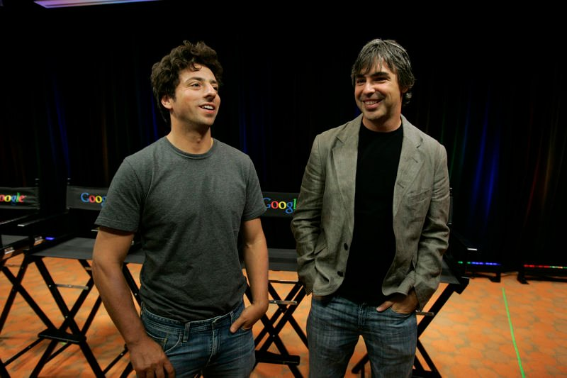 Google co-founders step down as execs
