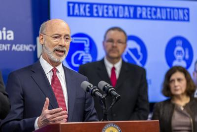 Wolf calls for large gatherings to be called off statewide in Pa.