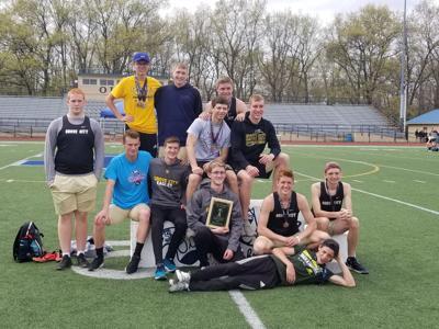 Grove City boys track and field team