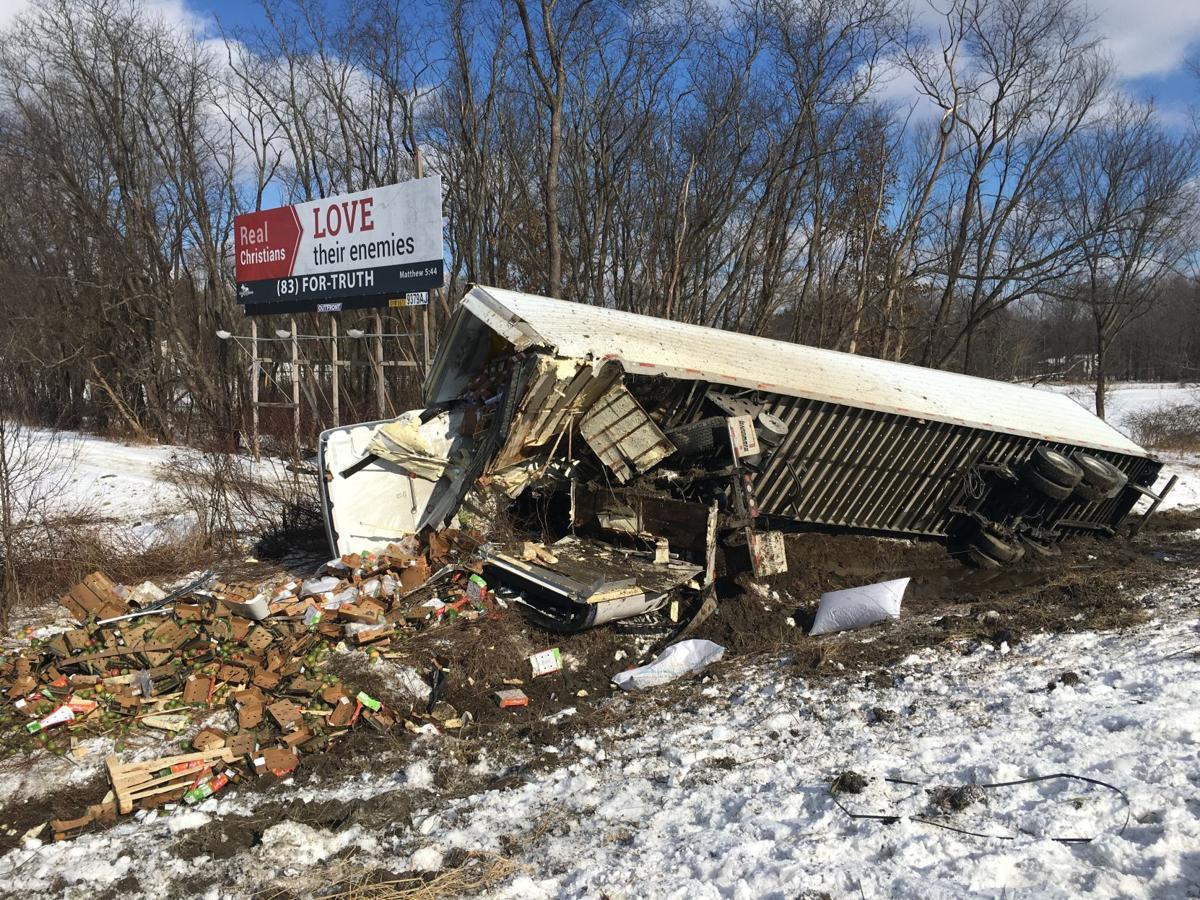 Trucker dies in accident along I-80 | News | sharonherald com
