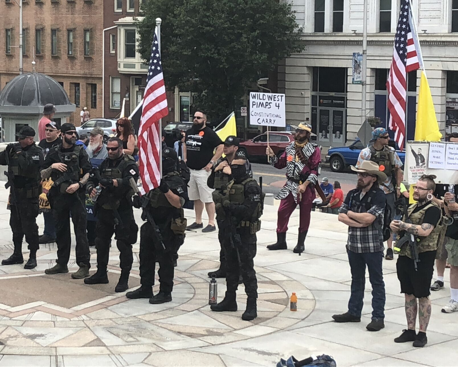 Gun rights supporters rally in Harrisburg