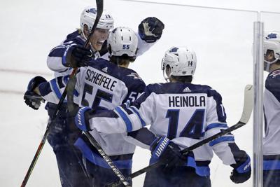 Jets Penguins Hockey