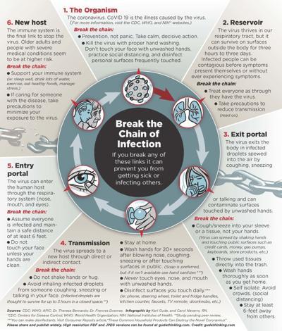 Coronavirus: Breaking the chain