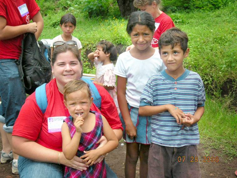 Helping the children