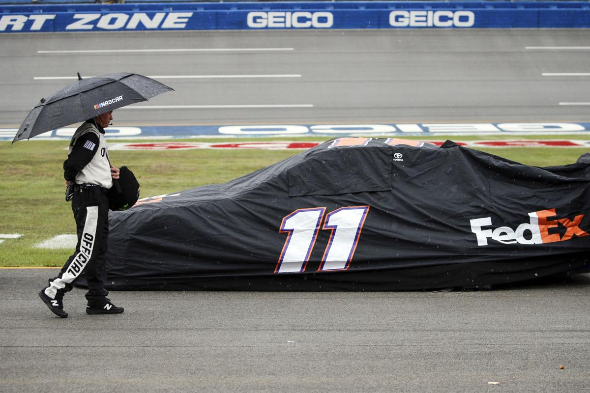 Bob Johnson Chevrolet >> Rain At Talladega Gives Nascar Teams Another Day To
