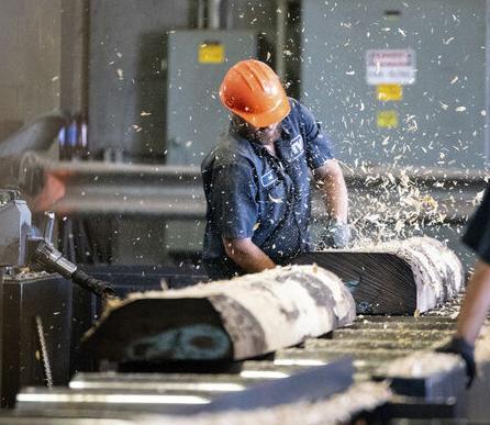 Demand for wood veneer keeps factory humming