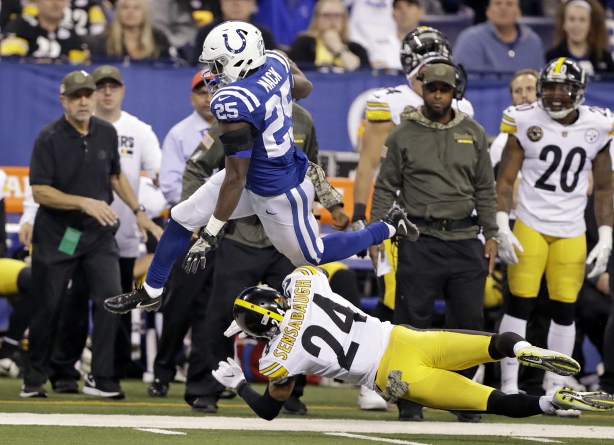 Coty Sensabaugh, Coty Sensabaughs first start, Marion Mack, Steelers vs Colts, Steelers vs Titans,