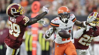 Redskins Browns Football