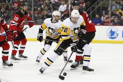 Penguins Devils Hockey