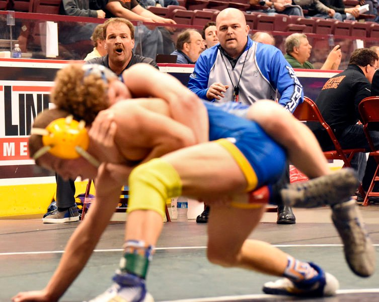 At Reynolds High, wrestling excellence is simply the norm states