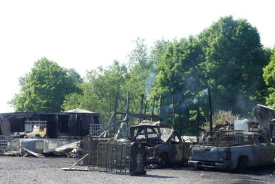 Fire destroys Liberty Twp. business